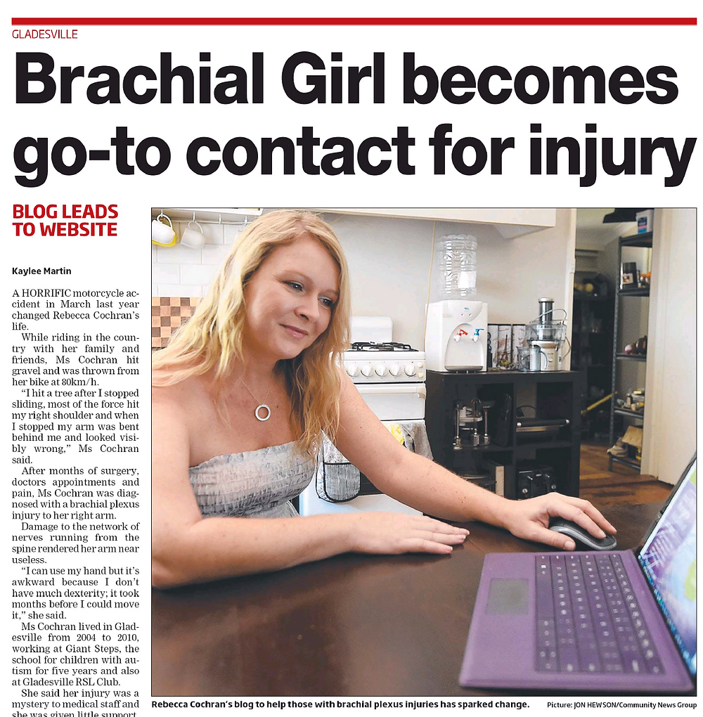 Brachial Girl - northern district times