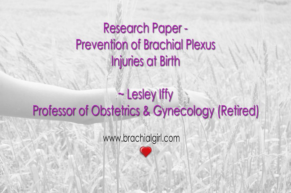 Brachial Girl - research 01