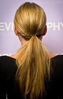 brachial girl - ponytail
