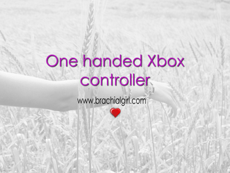 One handed Xbox controller