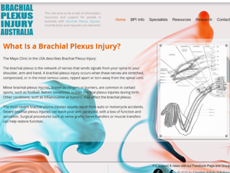 Brachial Plexus Australia