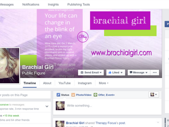Brachial Girl is on Facebook