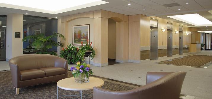 Stanford 2 lobby remodel