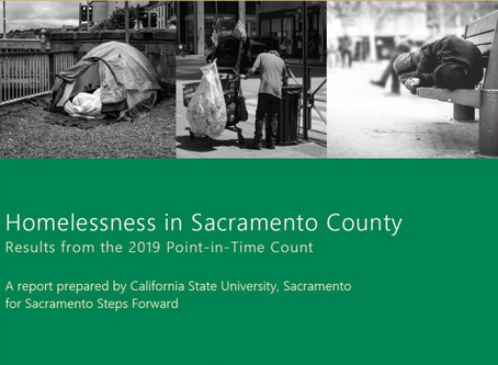 Sacramento Homeless Point In Time Count