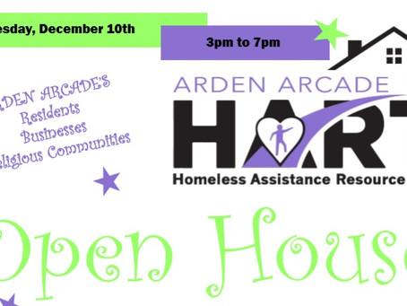 Arden Arcade HART Open House & Donation Drive