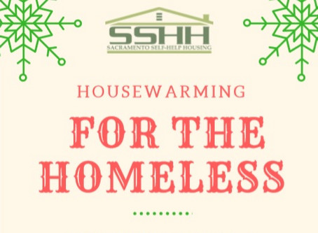 Housewarming for the Homeless