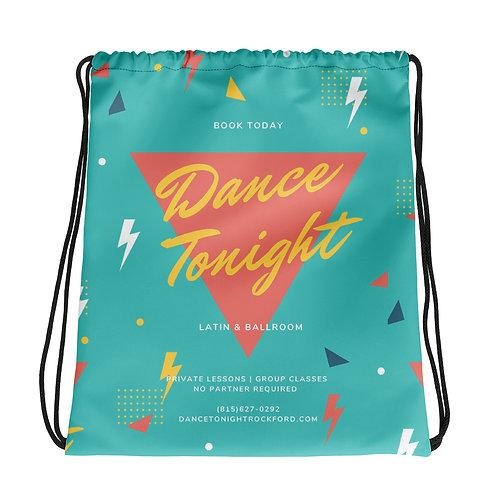Drawstring Dance Bag 80s
