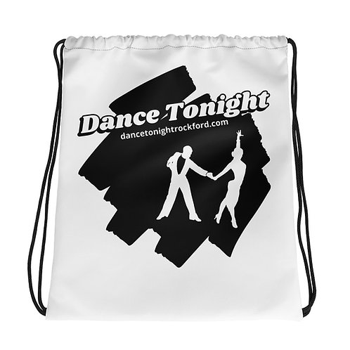 Drawstring Dance Bag White
