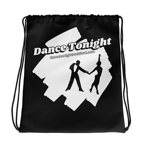 Drawstring Dance Bag Black