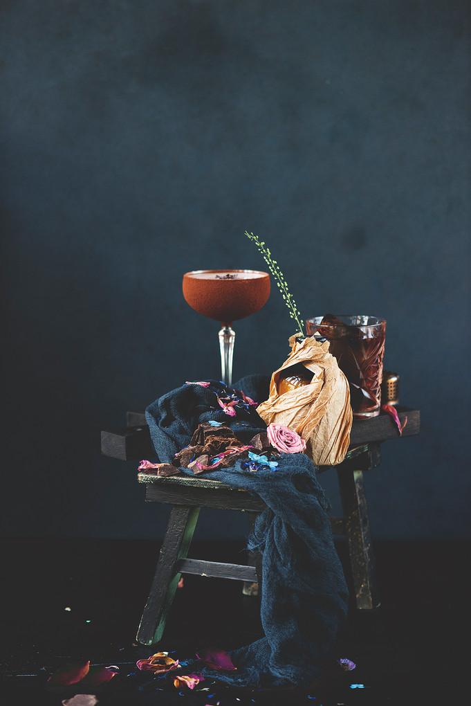 Съемка коктейлей для ресторана Пряности и Радости на Васильевском