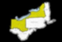 Estabrook sales territory map