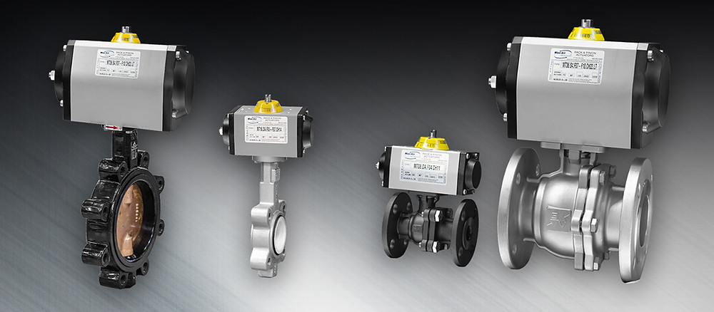 a collection of manual turn valves