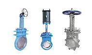 three Pratt valves