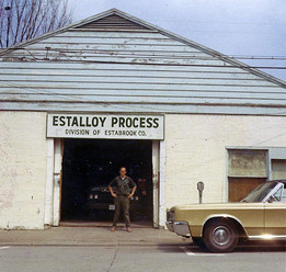 The first building that housed our machinery and repair equipment