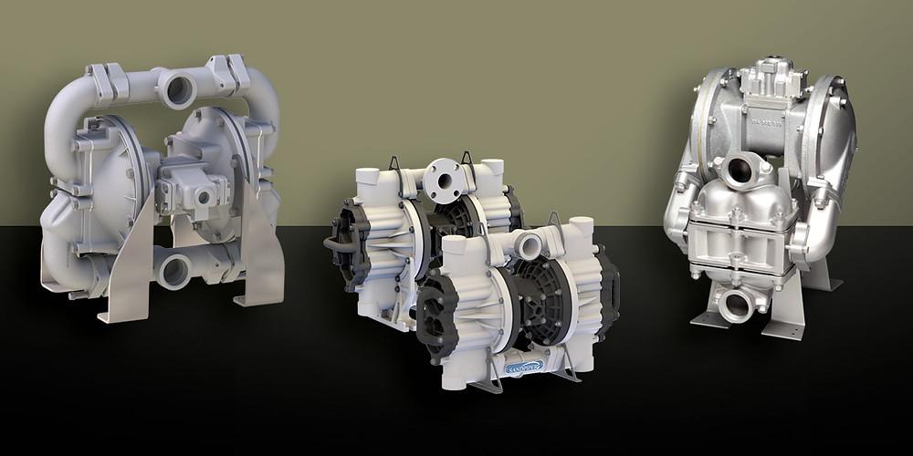 three sandpiper pumps