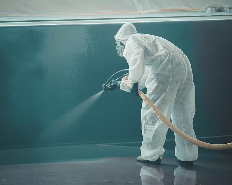 Proper application of industrial coatings