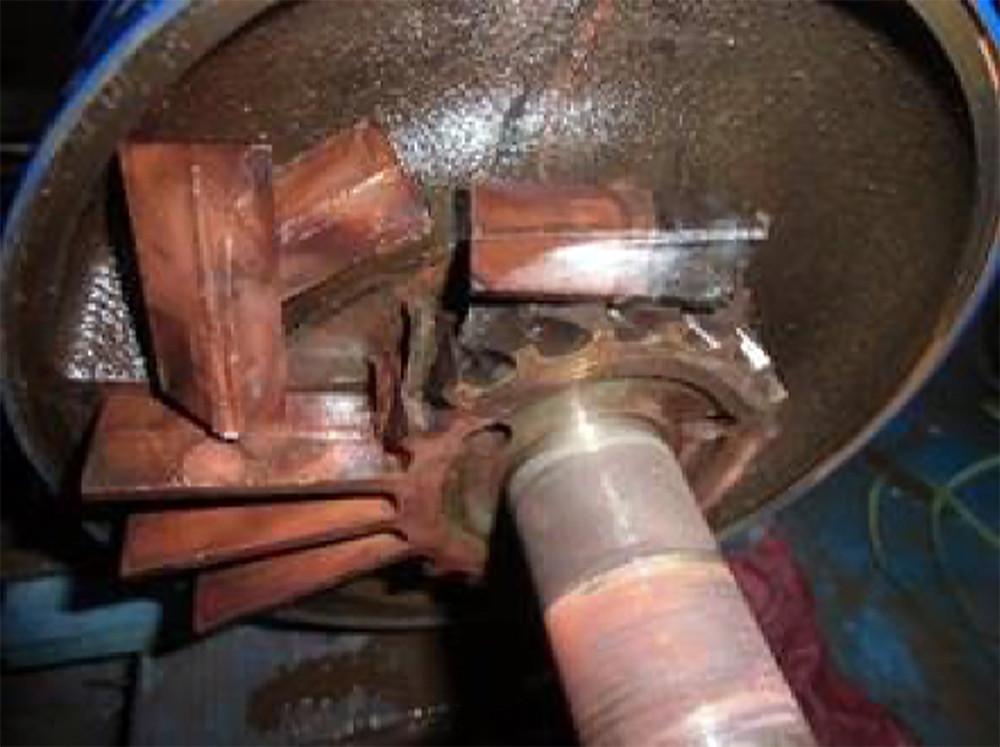inside of a pump