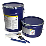 bucket of an ARC Industrial Coatings coating
