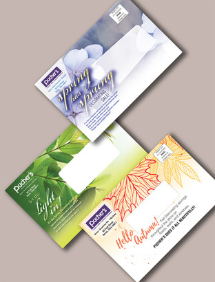 Paint and Flooring Company Direct Mail Pieces
