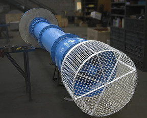 Vertical Turbine Pump, Single Stage, Open Line Shaft, repaired to factory specifications