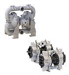 two Warren Rupp pumps
