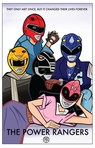 Power Rangers-Breakfast Club (11x17)