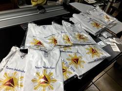 Custom printed shirts ! Richbond signs &