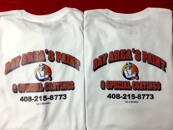 Custom printed company shirts ! Richbond