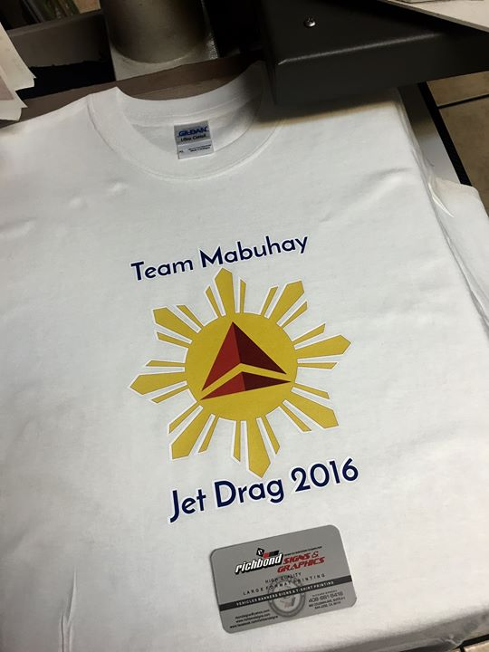 Full color custom printed shirts! Richbo
