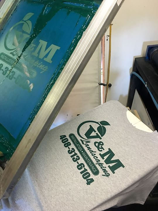 Screen printing # Richbond signs & graph