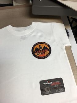 Custom printed shirts! Richbond signs