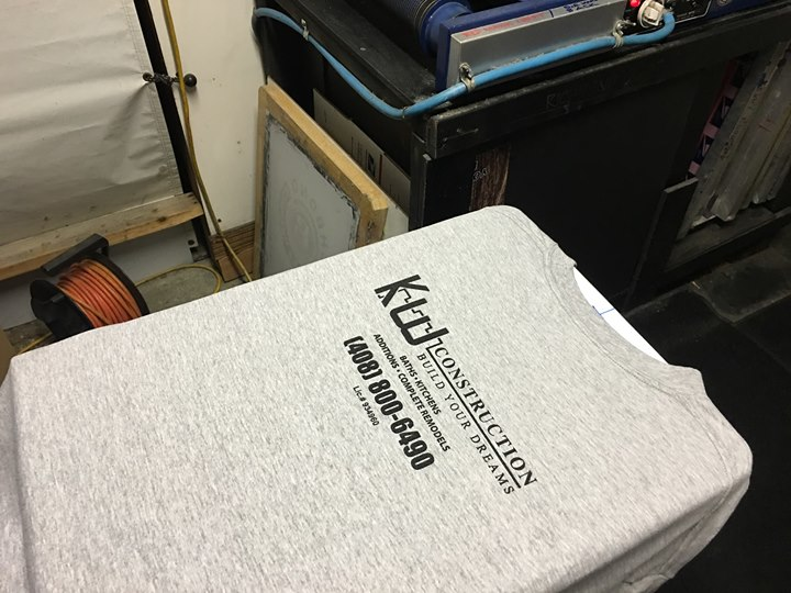 Richbond custom screen printing !