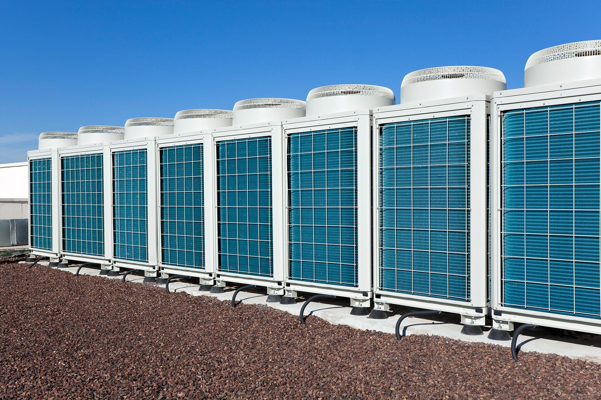 HVAC Units on Roof
