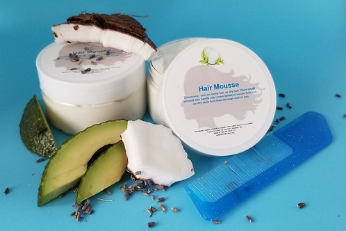 Hair Mousse - All Natural