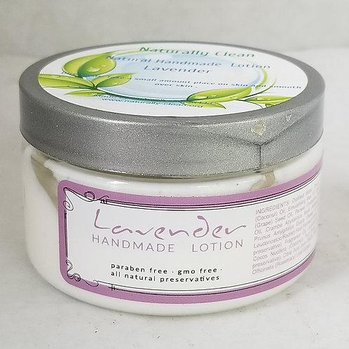 Lavender  Handmade Lotion 4 oz