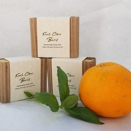 Fresh Citrus Basil (Vegan, 83% Organic, All Natural)