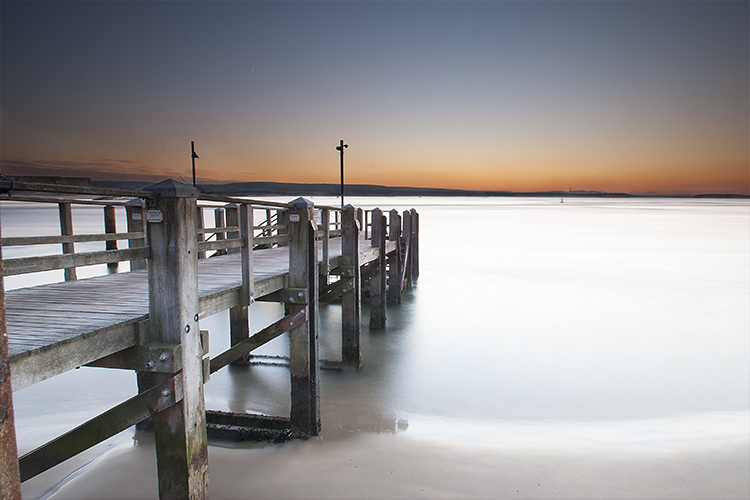 Poole Harbour private jetty