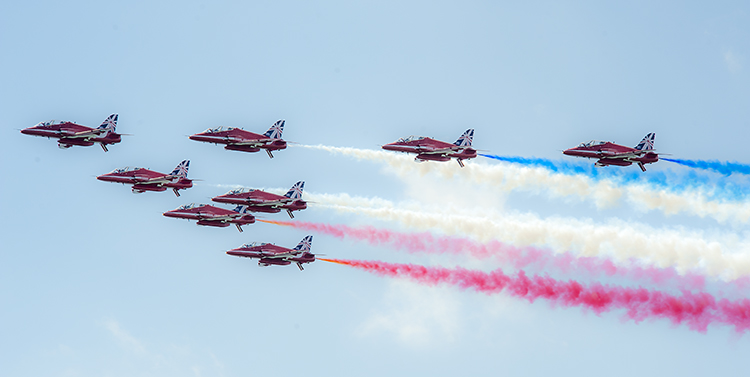 Red Arrows 2014