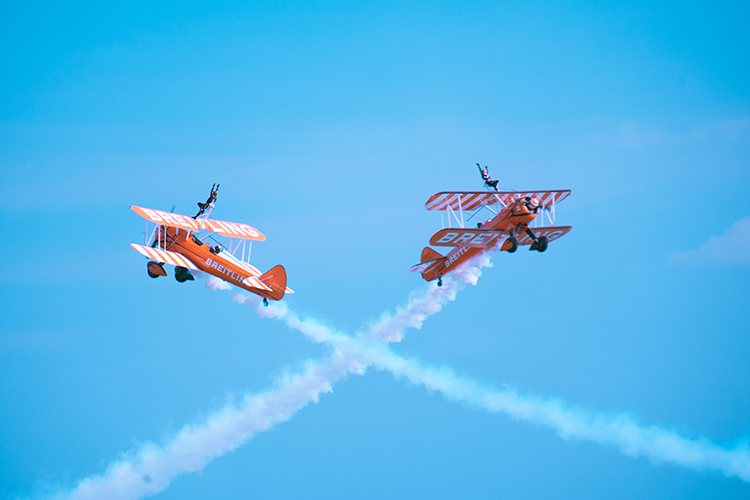 Bournemouth Air Show Wing Walkers