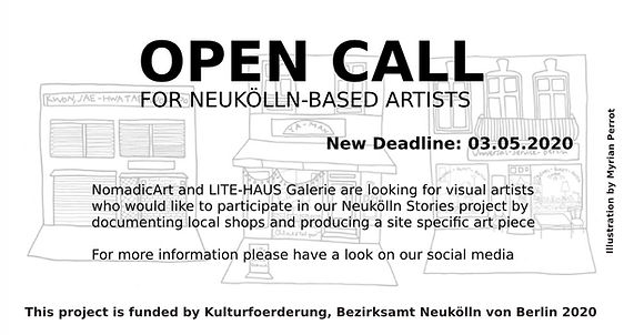 Neuklln Stories Open Call Info