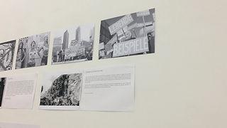 Berlin Gegen Nazis graphic design.