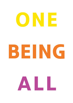 "Poster ""One Being All"""