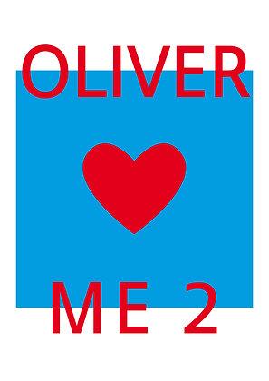 """Poster """"Oliver Loves Me 2"""""""