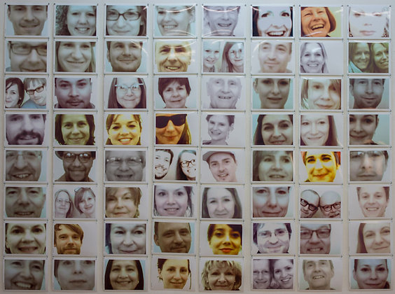 The I Love You Project LARGE Photo Installation