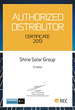 REC Solar Croatia, Shine Solar Group REC, REC Distributor Croatia