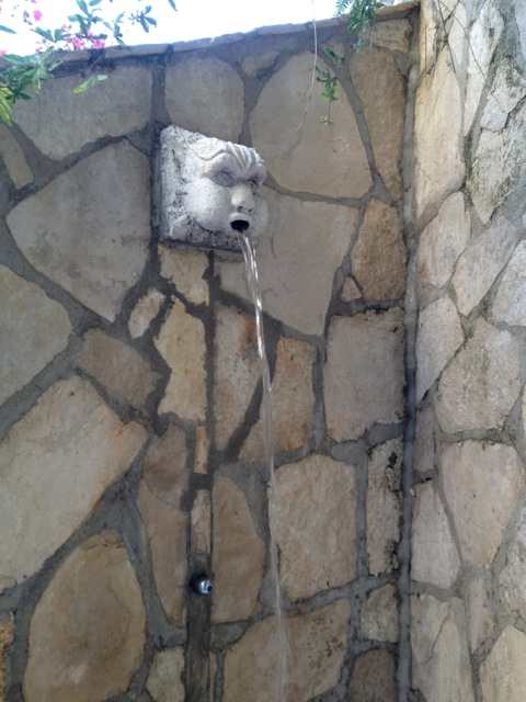 After Beach Outdoor Garden Shower