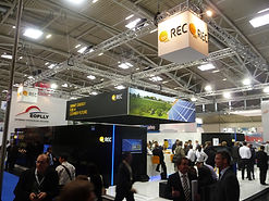 Shine Solar group attending REC