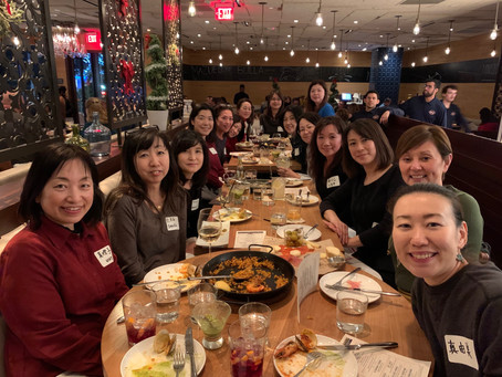 異業種交流忘年会 (End of Year Networking Dinner) 12/12/2019