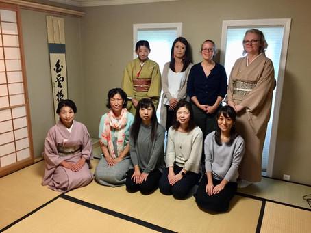 秋のお茶会 (Tea Ceremony) 10/13/2018