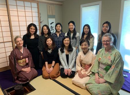 春のお茶会 (Tea ceremony) 3/9/2019